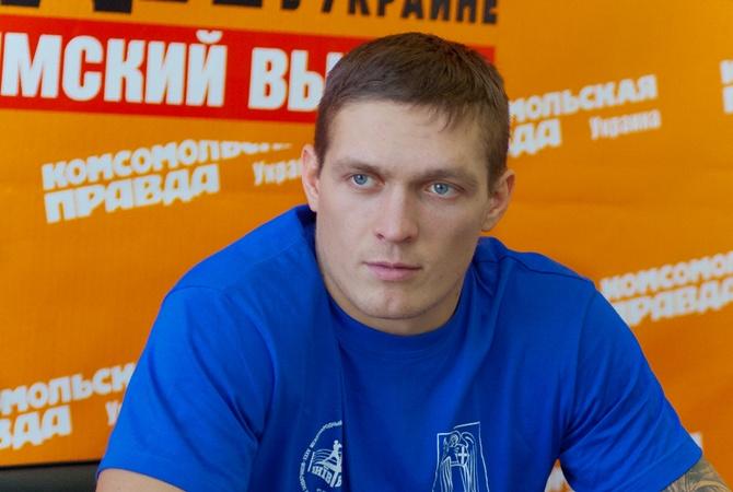"""Александр УСИК: """"На боксе в"""