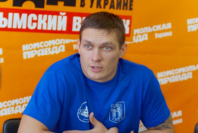 """боксу Александр УСИК: """"У"""