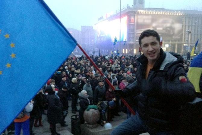 Автор нового гимна Евромайдана Ростислав Хитряк:  На Евровидение не собираюсь