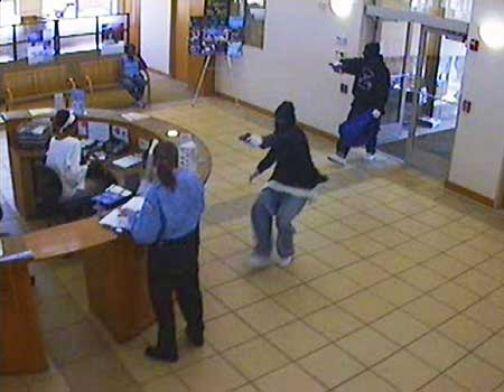 бандитов ограбили банк и