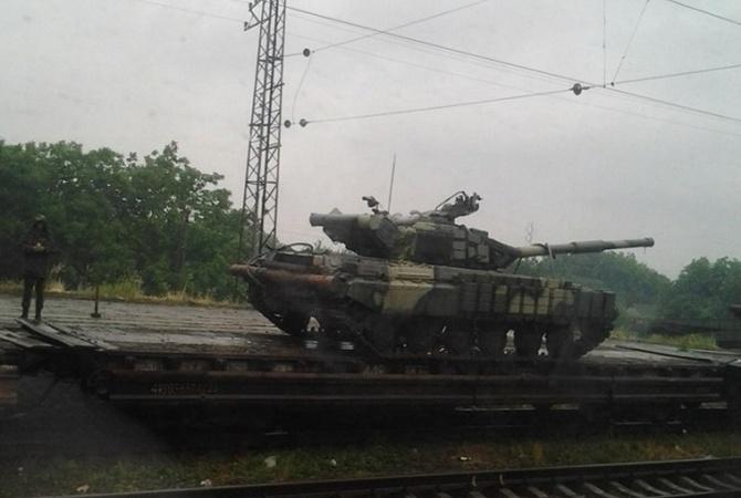 Поезд Киев - Луганск: пустые
