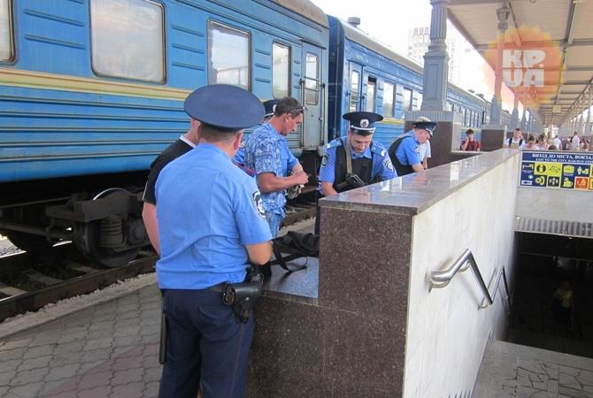 Луганский поезд в Харькове