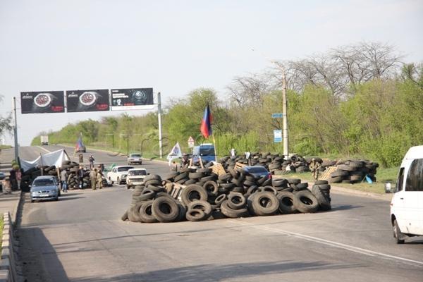 Дороги Донбасса: север закрыт