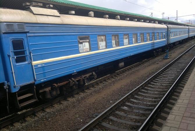 Движение поезда Мариуполь-Киев