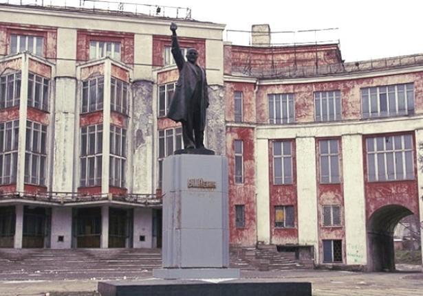 В Днепропетровске горит