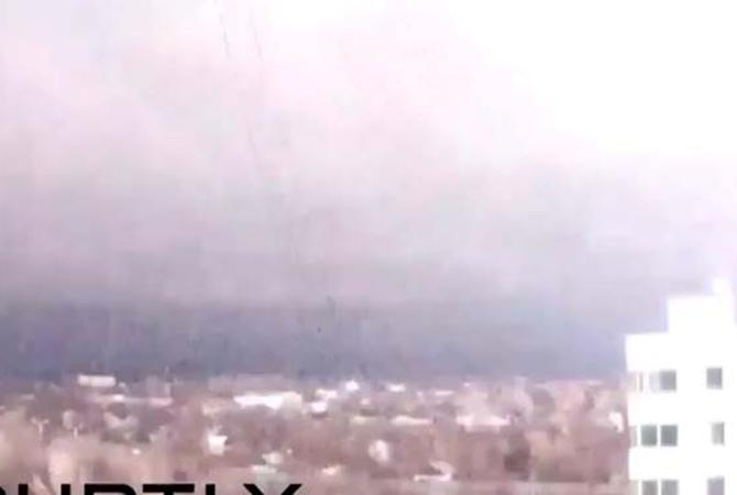 Донецк ночью озарила огромная вспышка (ВИДЕО)