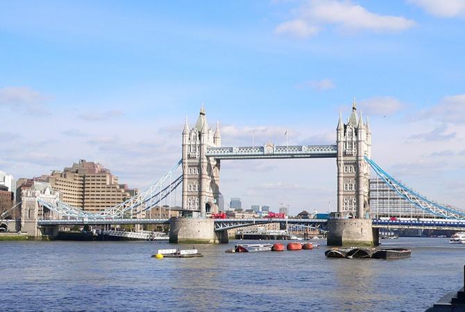 Тауэрского моста в Лондоне