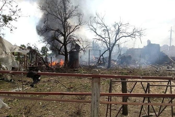 На Донбассе снова обстреляли мирных жителей