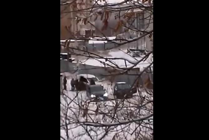 В Донецке среди белого дня похищают людей (ВИДЕО)
