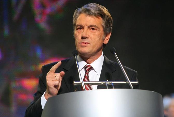 Ющенко мне политика нбу не нравится