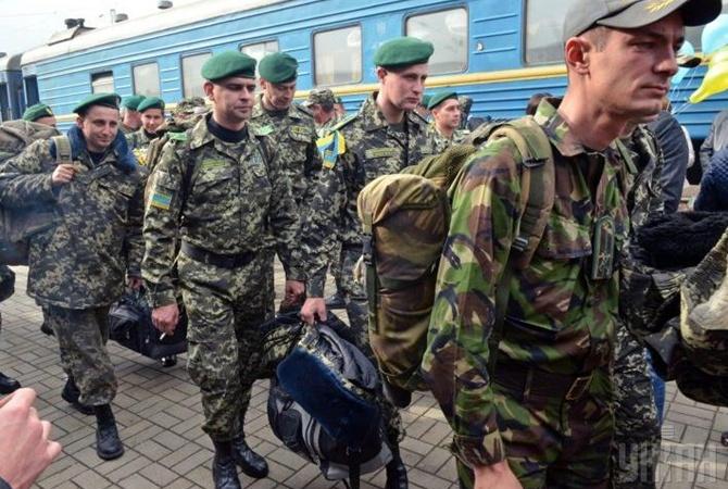 В тернополе военнослужащим запретят