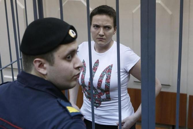 Украинская летчица Надежда Савченко написала письмо украинским военным