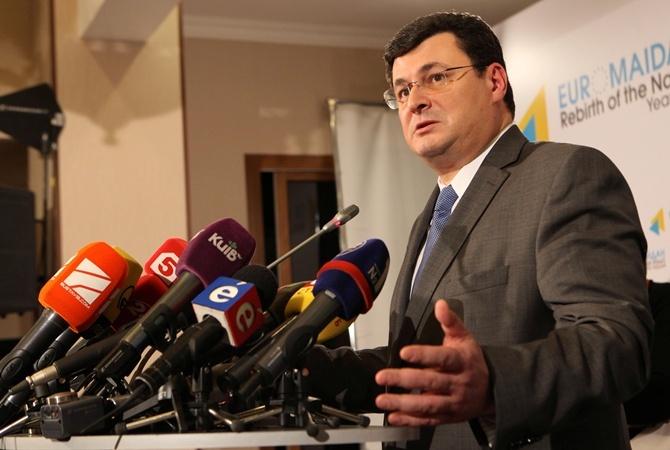 Квиташвили задекларировал 76,6 тысяч долларов доходов в 2013 году
