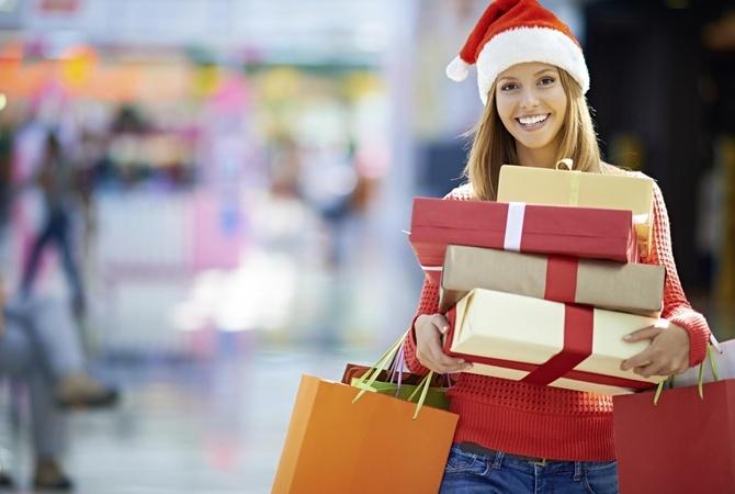 Подарки за покупки тема