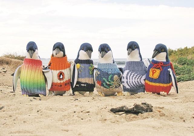 А мы пингвинчики, а нам не холодно...