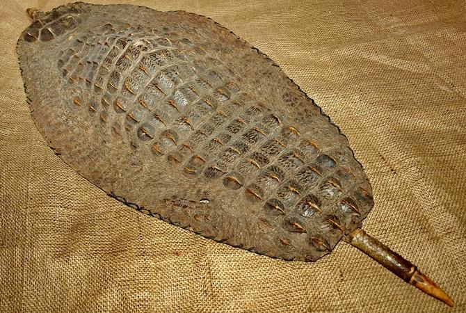 В Днепропетровске покажут 200-летний щит из крокодила