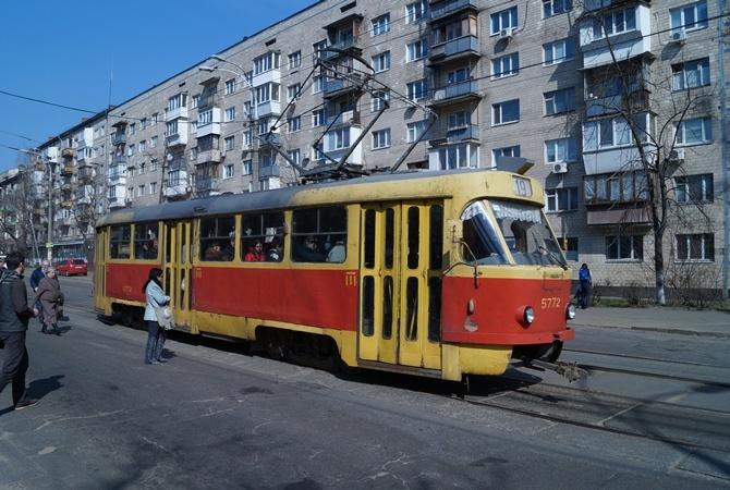 Движение киевского транспорта