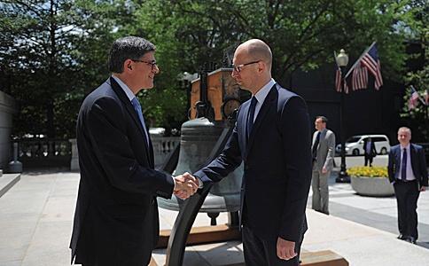 Яценюк и Яресько в США договариваются о новом кредите</p> <p>      Арсений Яценюк встретился с министром финансов С