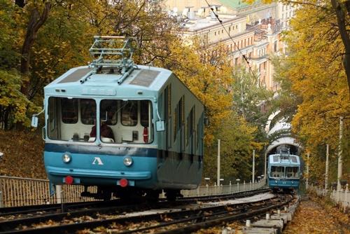 В Киеве фуникулер превратится