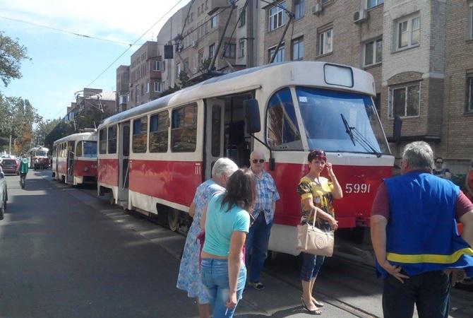 движение трамваев