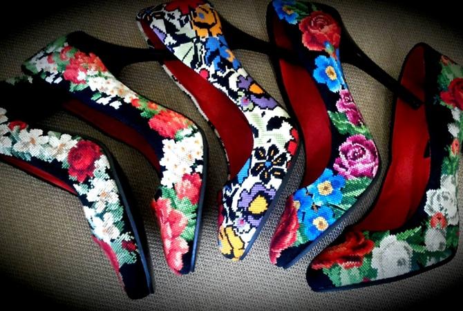 Туфли-вышиванки