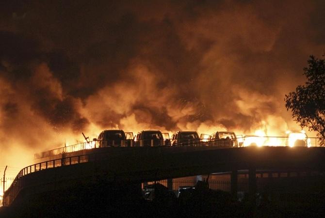 В результате взрыва в Китае погибло семь человек