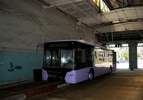 В Киеве не ходят троллейбусы