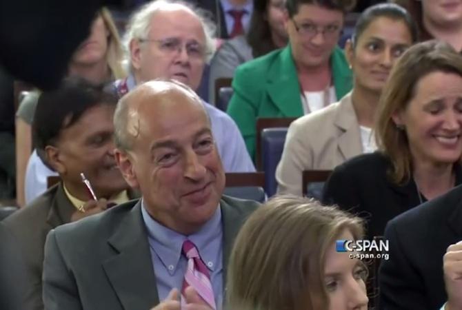 журналиста в Белом доме