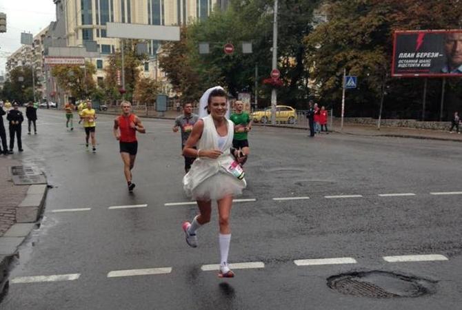 Платье марафон