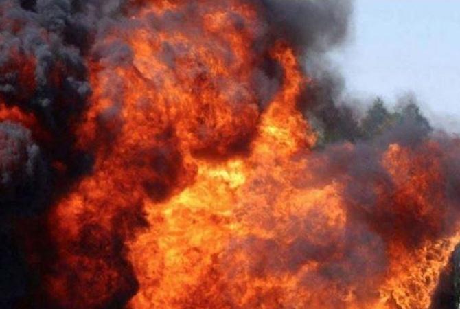 В Китае рванула фабрика по производству взрывчатки