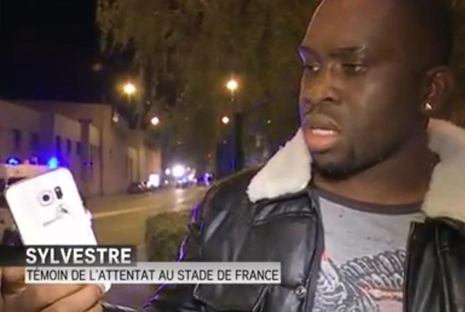 Француза от взрыва в Париже спас смартфон