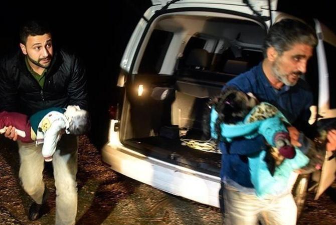 У берегов Турции затонула лодка с мигрантами погибли дети