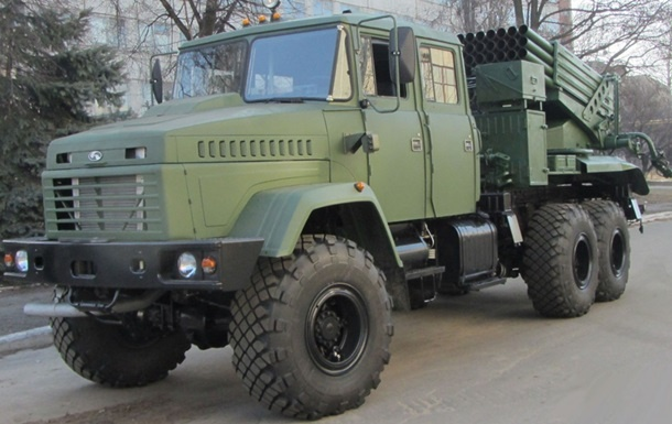ВУкраинском государстве создали новейшую систему залпового огня «Верба»
