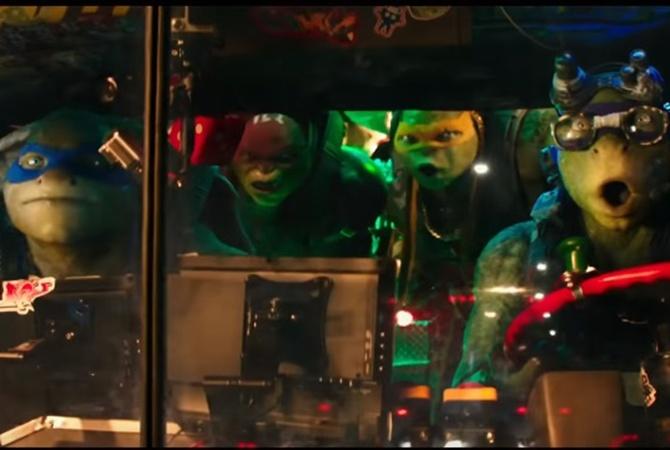 Вышел первый трейлер новых'Черепашек-ниндзя с Меган Фокс