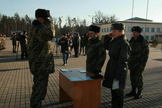 На блокпосты в зону АТО отправились служить жители Донбасса