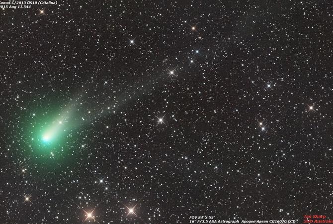 Астрономы: Суперяркая комета «Каталина» сбольшой скоростью летит кЗемле