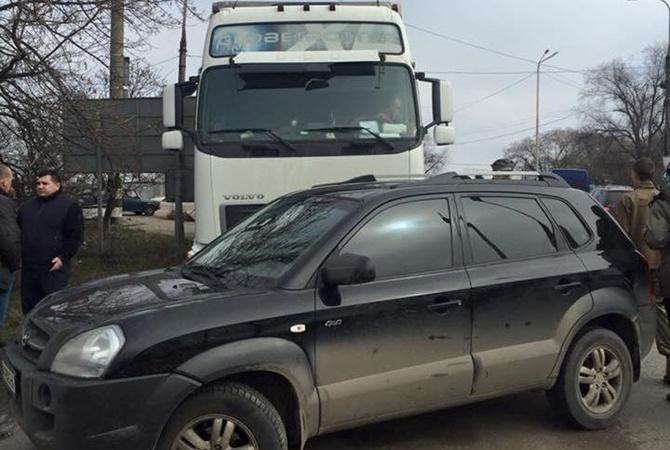Одесса присоединилась кавтоблокаде. Активисты непускают вгород русские фуры