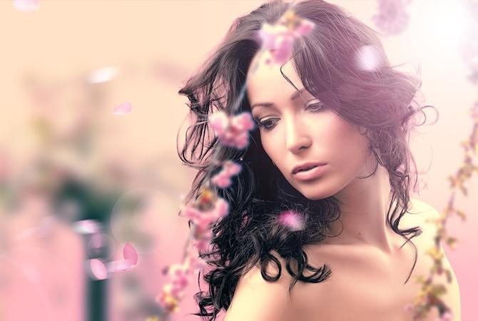 Лето и красивая девушка стихи