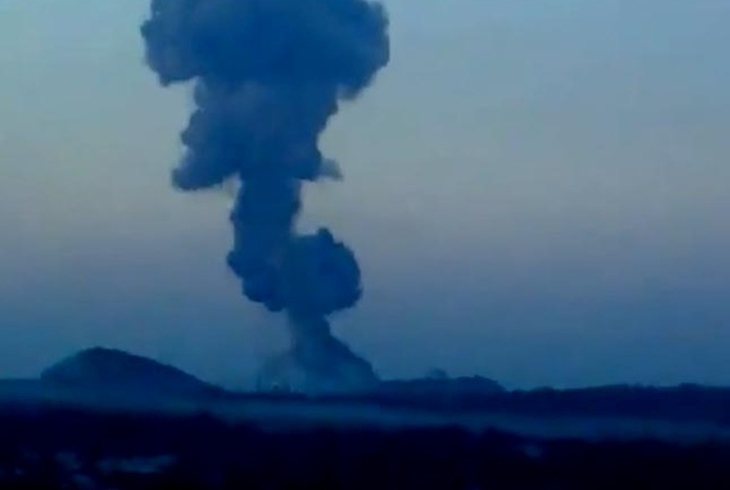Мощнейший взрыв вДонецке докатился доГорловки