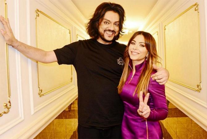 Поклонники Ани Лорак удивились наряду певицы Ани Лорак и Филипп Киркоров