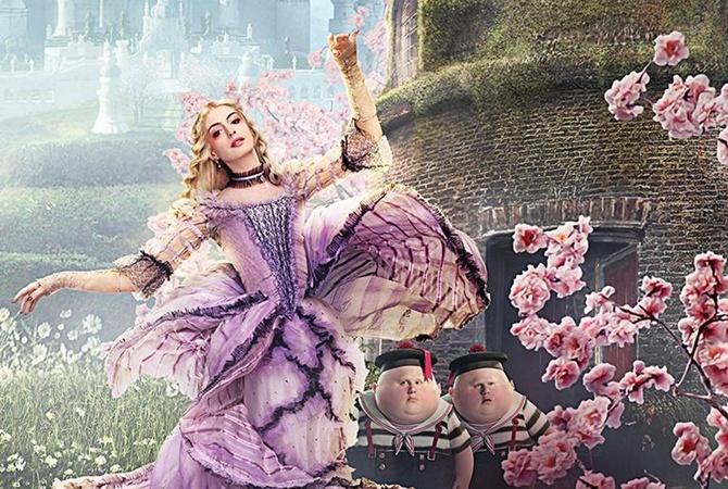 Вышел новый трейлер «Алисы вЗазеркалье»