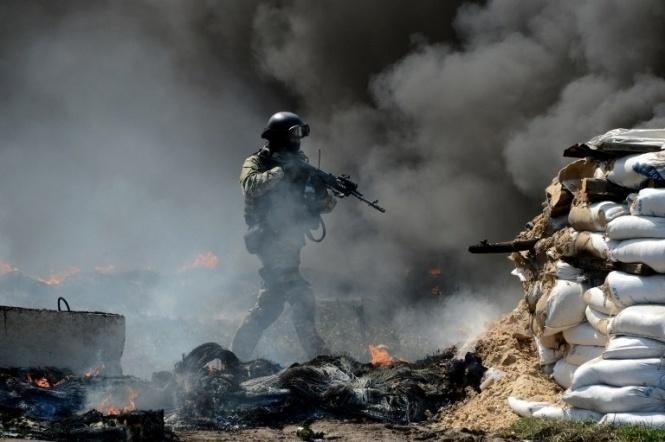 Бойовики заминулу добу 65 разів обстріляли позиції ЗСУ,— прес-центр АТО