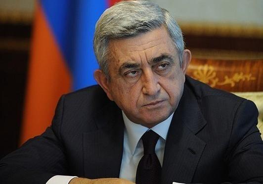 Президент Армении мы готовы к введению миротворцев но Азербайджан против Серж Саргсян