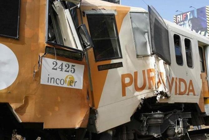 ВКоста-Рике около 80 человек пострадали при столкновении поездов