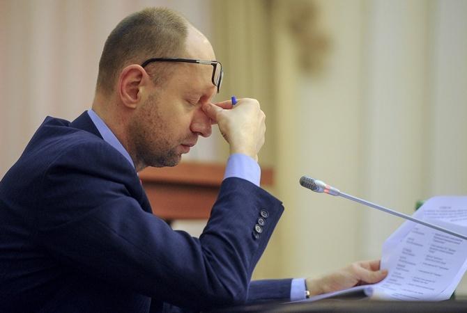 Западные СМИ прокомментировали возможное назначение Гройсмана премьером                       Яценюк заявил о своем уходе