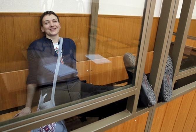 Надежде Савченко неплатят зарплату из-за «прогулов»
