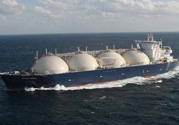 США направили 1-ый танкер сосжиженным газом вЕвропу