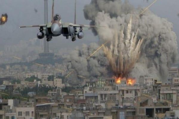 В Сирии разбомбили лагерь беженцев погибли 28 человек