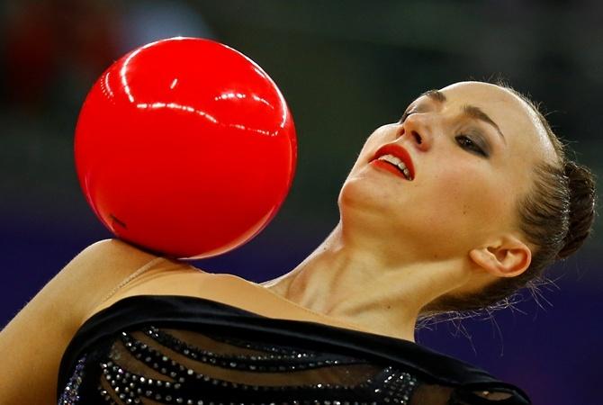 Украинская гимнастка стала лучшей на крупном турнире во Франции                        Анна стала лучше