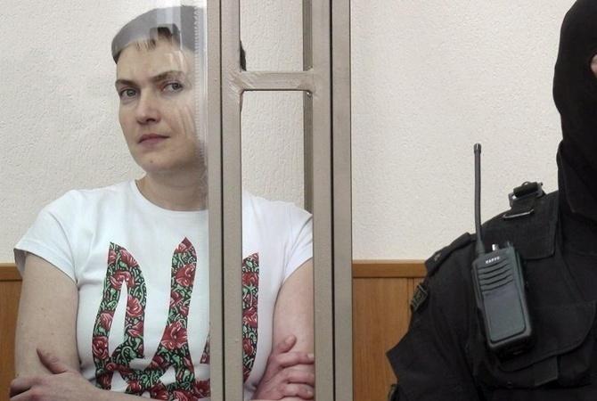 Надежду Савченко с35-летием поздравил президент